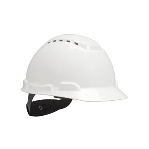 Hard Hat H-701V-UV, with UVicator, Vented ,White, 4-Point Ratchet Suspension, 20ea / cs