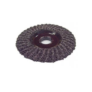 "58155 - 4 1 / 2"" SILICONE CARBIDE 16 GRIT ZEC WHEEL"