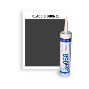 890 NST - CTG-046-Classic Bronze CTG Non-Staining, Ultra-Low Modulus Silicone Sealant-10 oz cartridge