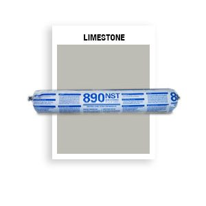 890 NST - SSG-039-Limestone SSG Beige  Non-Staining, Ultra-Low Modulus Silicone Sealant-20 oz sausage