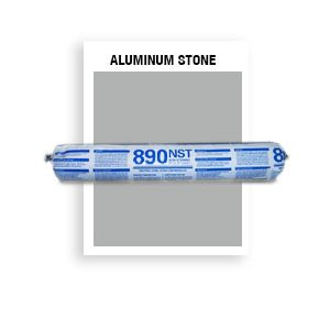 890 NST SSG Aluminum Stone  Non-Staining, Ultra-Low Modulus Silicone 20 oz sausage
