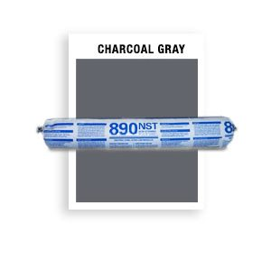 890 NST SSG-950-Charcoal Gray SSG Non-Staining, Ultra-Low Modulus Silicone 20 oz sausage