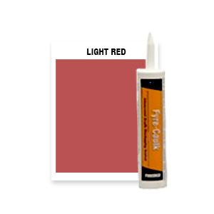 FYRE-CAULK LIGHT RED - 12 QT CTG CS