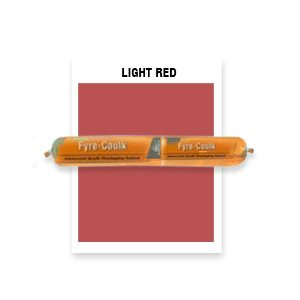 FYRE-CAULK LIGHT RED - 15 SSG CS